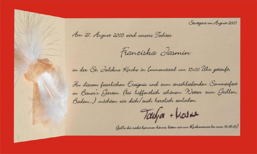 Briefeinladen: New Text Einladung Hochzeit Mit Sektempfang, Einladung